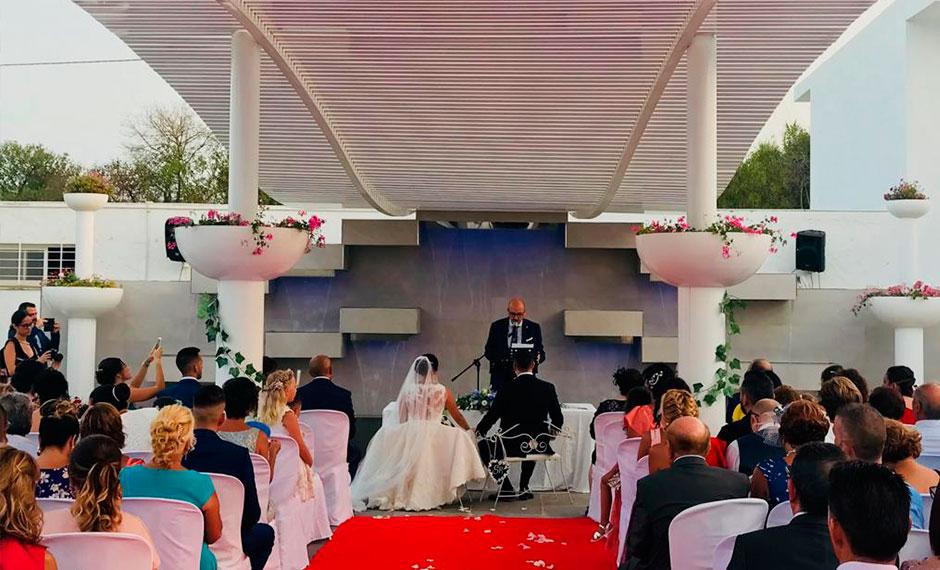 celebracion de boda civil malaga valtari